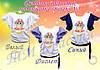Волан-5 Подростковая футболка- заготовка под вышивку для девочки