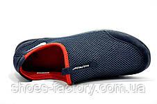 Кроссовки мужские в стиле Nike Free Run 3.0 Slip On, Dark Blue\Red, фото 3