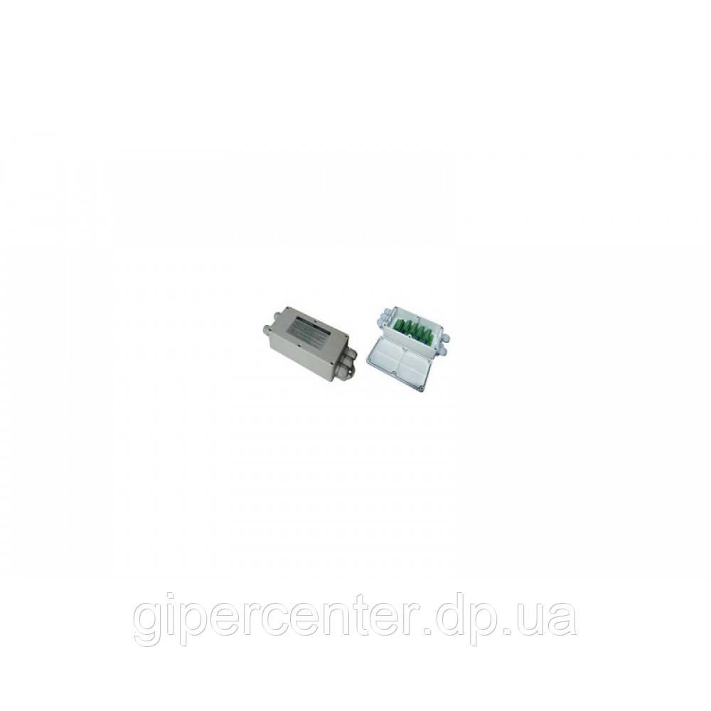 Соединительная коробка для 4-х аналоговых датчиков JB4 (ударопрочный пластик/в корпусе с гермовводами)