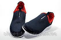 Кроссовки мужские в стиле Nike Free Run 3.0 Slip On, Dark Blue\Red, фото 2
