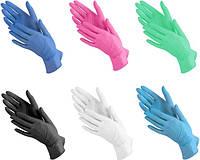 Нитриловые перчатки медицинские одноразовые