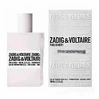 TESTER 100 мл женский Zadig&Voltaire This is Her