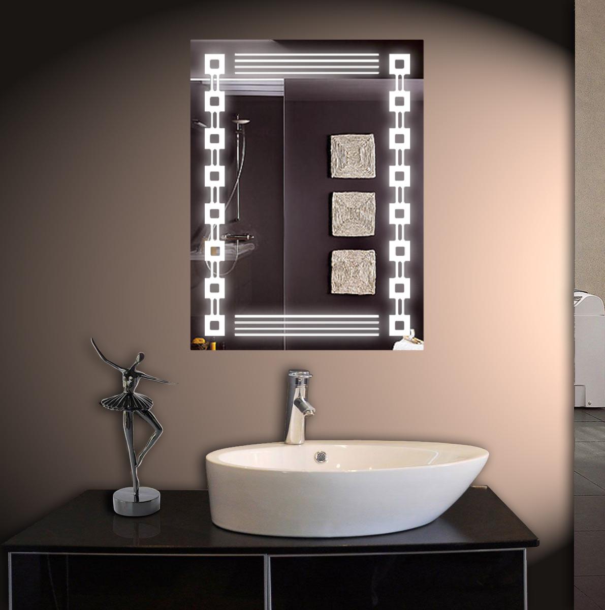 Зеркало LED со светодиодной подсветкой ver-3010 600х800 мм