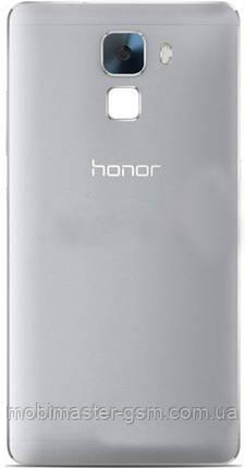 Задняя крышка для телефона Huawei Honor 7 (PLK-L01) серая, фото 2
