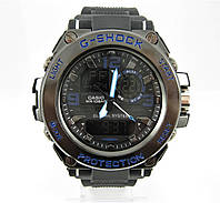 Часы Casio G-Shock GST-1000 Black/Blue. Реплика, фото 1