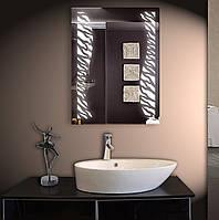 Зеркало LED со светодиодной подсветкой ver-3012 600х800 мм
