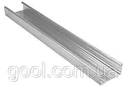 Профиль оцинкованный CD 60/27 KNAUF для гипсокартона длина 4 м.п. толщина металла 0,6 мм