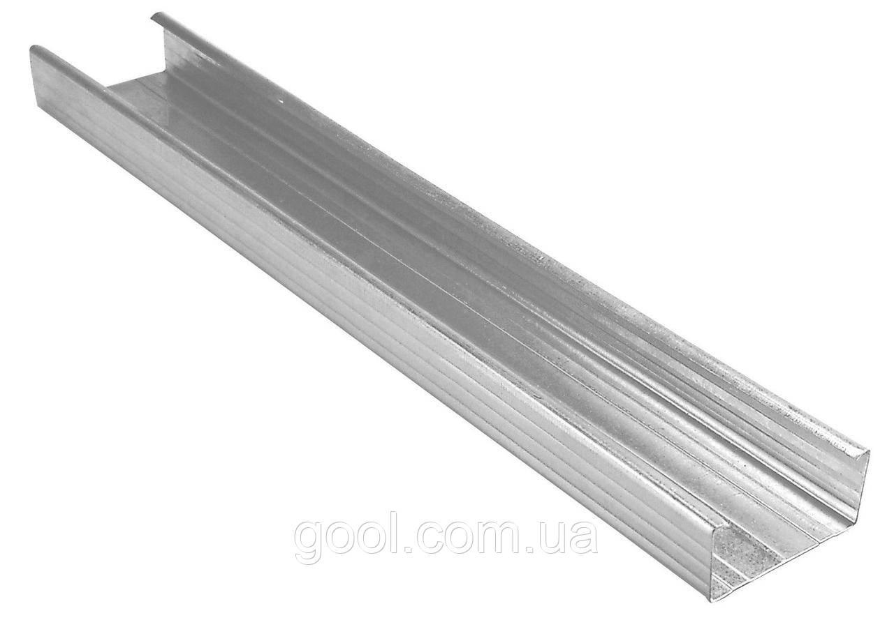 Профиль оцинкованный Cd 60 27 Knauf для гипсокартона длина 4 м п толщина металла 0 6 мм