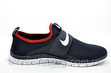 Мужские кроссовки в стиле Nike Free Run 3.0 SOCFLY, Dark blue, фото 3