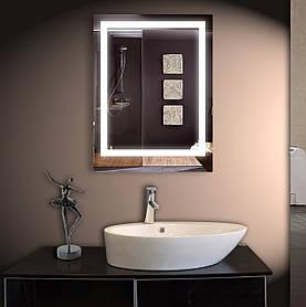 Зеркало LED со светодиодной подсветкой ver-302 800х600 ммзеркало с подсветкой в ванную