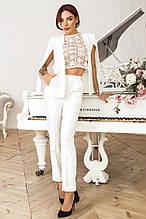 Женский костюм  кейп + брюки