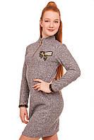 Платье теплое и стильное для девочки, фото 1
