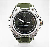 Часы Casio G-Shock GST-1000 Silver/Green. Реплика, фото 1