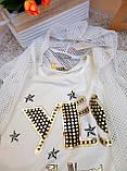 Костюм стильный для девочек 5-7 лет Little star, Турция, фото 3
