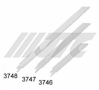 """Полотно ножовочное широкое 9""""х18Т l=210мм.  3746 JTC"""
