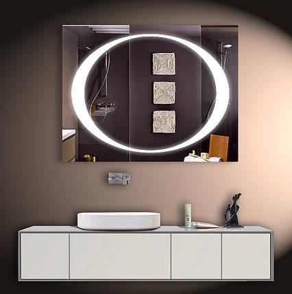 Зеркало для ванной LED ver-3031 900х700, фото 2