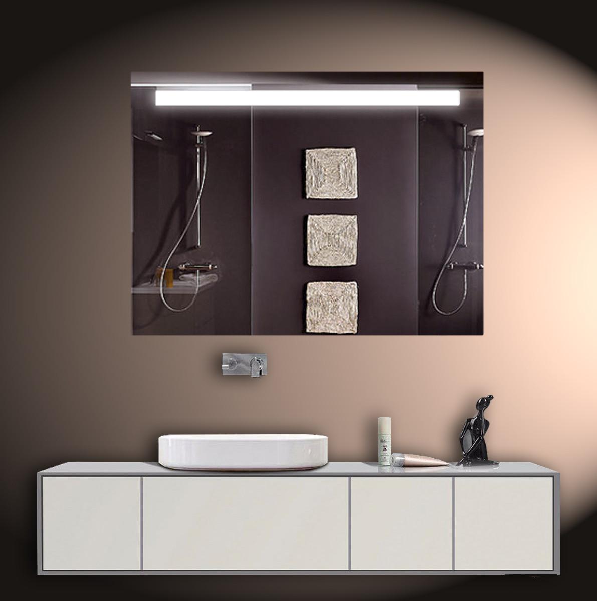 Зеркало для ванной LED ver-3037 800х600 мм.