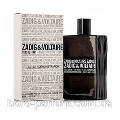 TESTER 100 мл мужской Zadig&Voltaire This is Him
