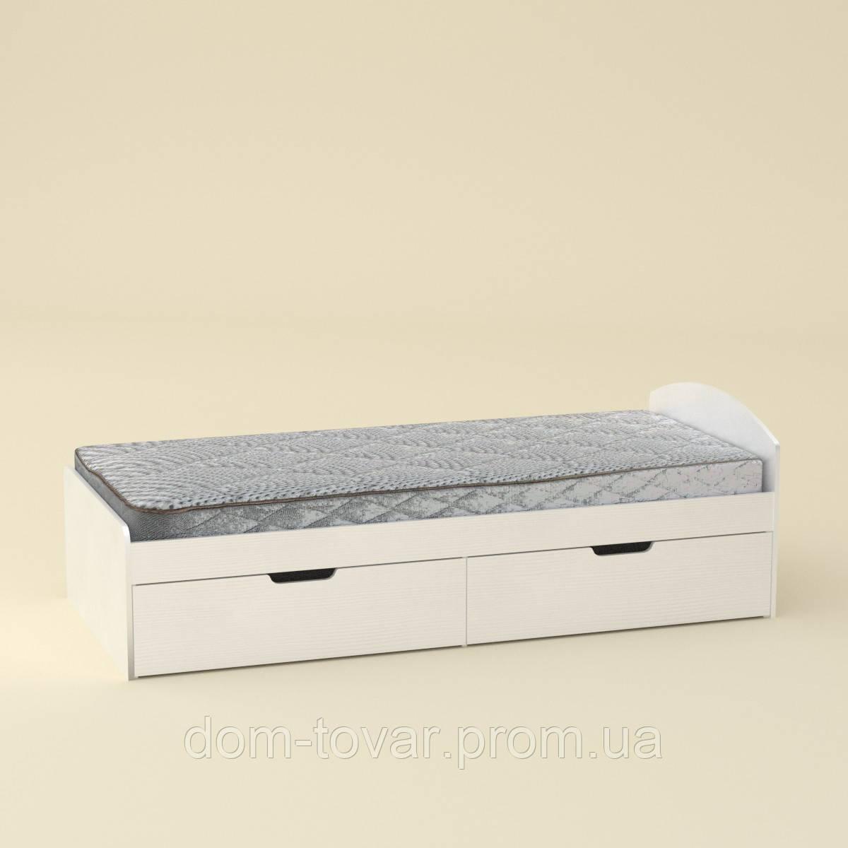 Кровать односпальная 90+2 компанит