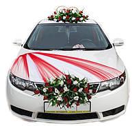 Украшение на свадебную машину Red dream