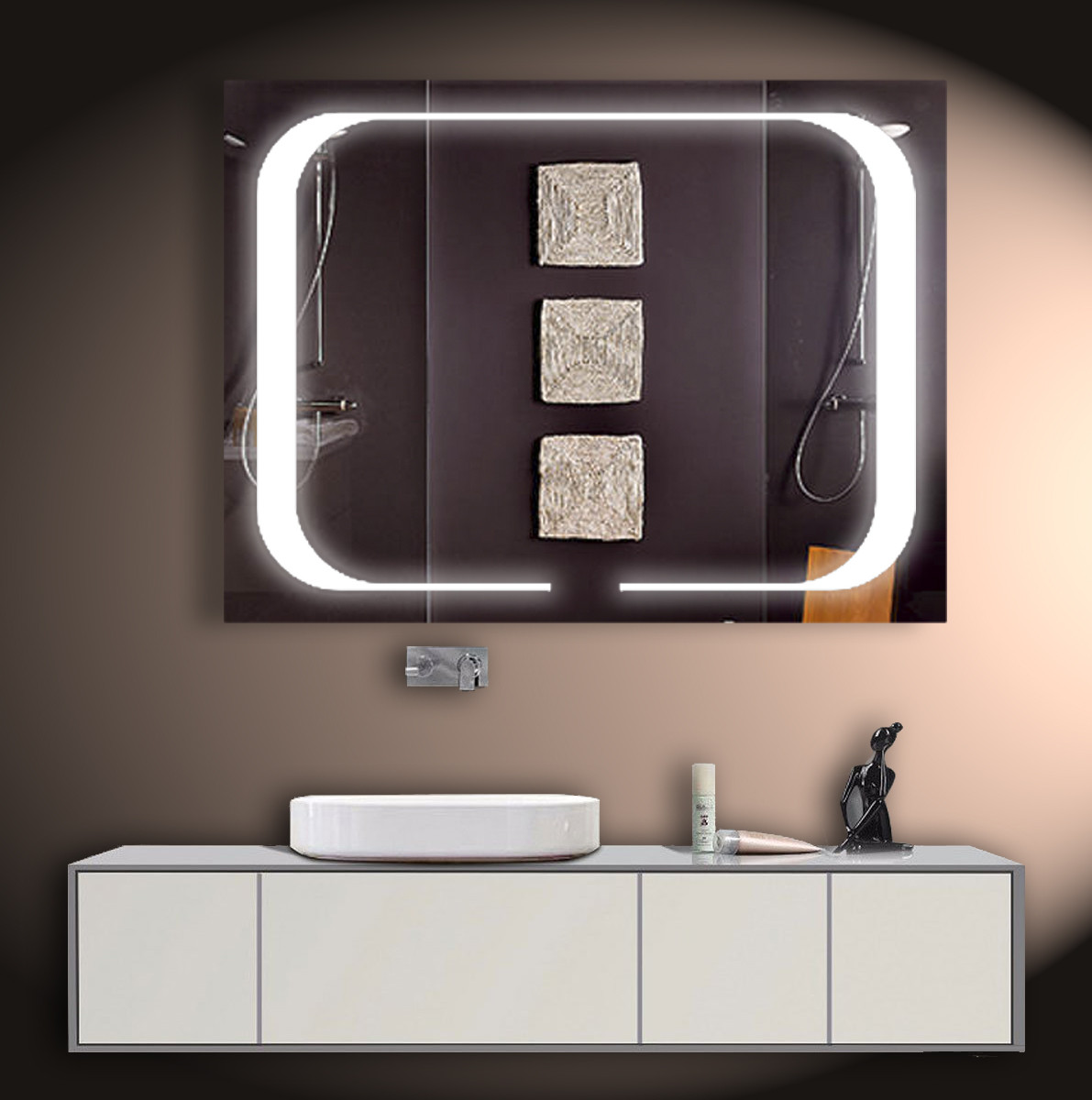 LED зеркало ver-3043 850х650
