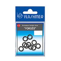 FLASHMER Sea Fishing Jigs Stainless Steel Rings 12mm