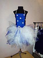 Пышное платье рванка на 5-6 лет