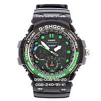Часы Casio G-Shock GulfMaster BlackGreen. Реплика