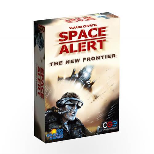 """Настольная игра """"Космическая тревога: На дальних рубежах (Space Alert: The New Frontier)"""" Czech Games Edition"""