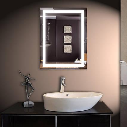 Зеркало LED со светодиодной подсветкой ver-301 500х800 мм, фото 2
