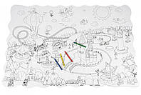 Пазл-раскраска Same Toy Парк развлечений 2033Ut