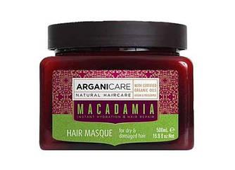 Arganicare маска Macadamia для сухих и поврежденных волос 7290104367281