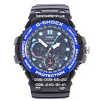 Часы Casio G-Shock GulfMaster Black/Blue. Реплика, фото 1