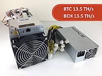 Asic Bitmain Antminer S9 13.5 TH/s + БП Bitmain 1600 Вт (Bitcoin, BitcoinCash)
