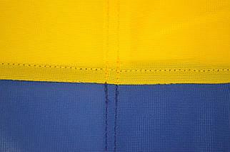 Флаг Украины  сшитый 90*135см из флажной сетки, фото 3