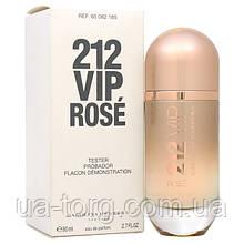 Тестер женский Carolina Herrera 212 Vip Rose (Каролина Эррера 212 Вип Роуз)