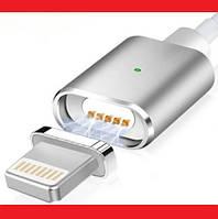 Магнитный кабель USB - iPhone Lightning - Белый, фото 1