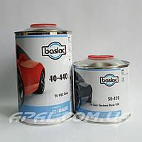 Baslac 40-440 2K VOC Clearcoat Лак (1л) + затв. 50-420 2K Hardener Normal VOC (0,5л), фото 1