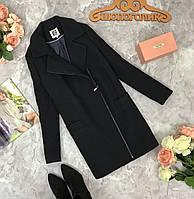 Стильное пальто с отложным воротником  OV1816297