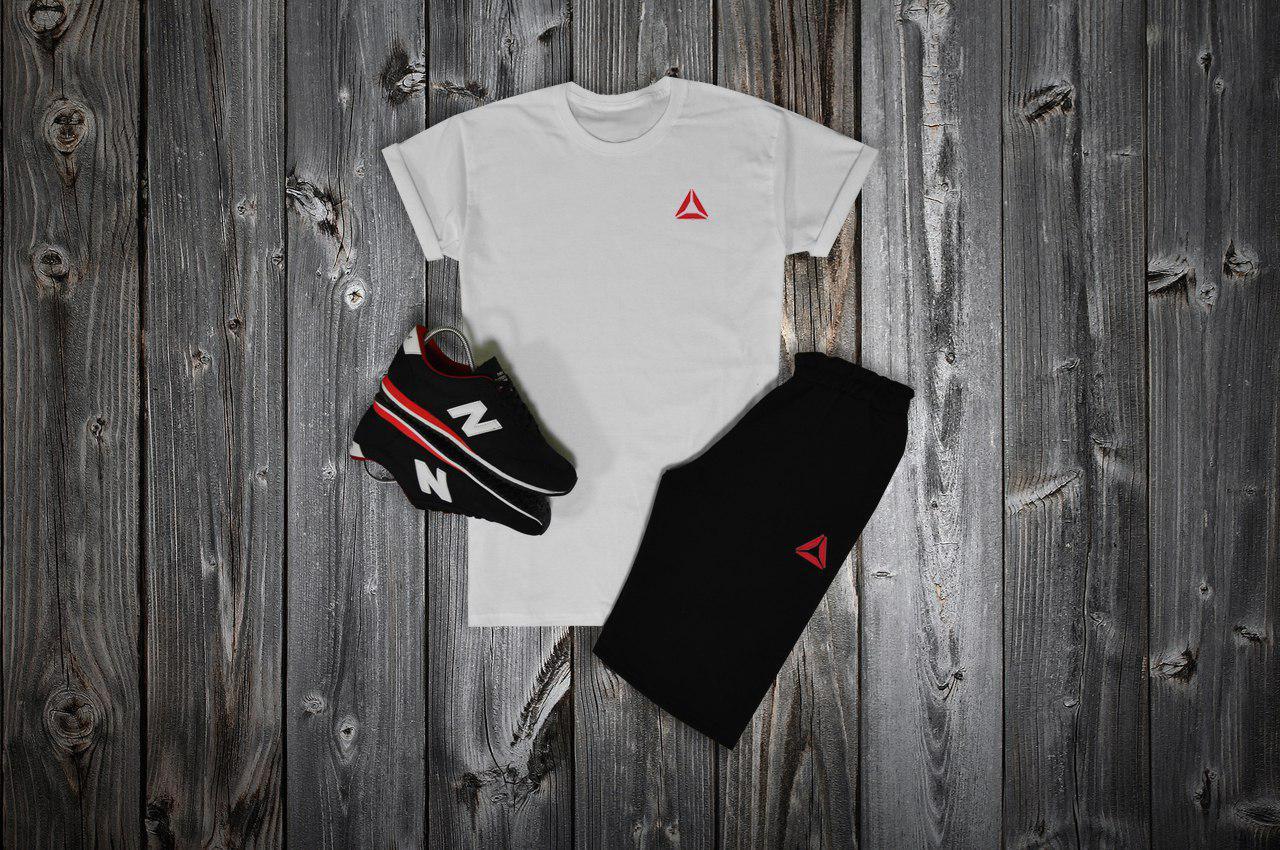 6124b7b80467 Комплект футболка + шорты Reebok - купить в Украине   Rusher - 691952750
