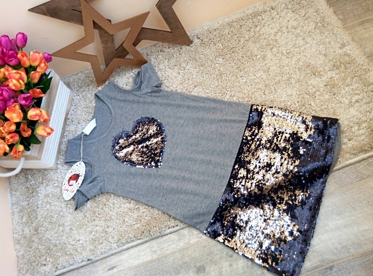 Туника-платье для девочки 10-17 лет  в розницу Турция