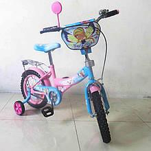 """Велосипед двухколесный Tilly Чарівниця 14"""" T-21426"""