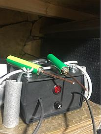 Прибор для выжигания гвоздей из каблуков
