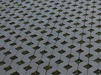 Тротуарна плитка РЕШІТКА ПАРКУВАЛЬНА 8см сірий
