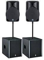 "Аренда комплекта аппаратуры: DJ + Свет + Звук 2 кВт. (Пакет ""Усиленный Стандарт"")"