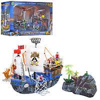 Пиратский корабль 55 см - подарочный игровой набор  - серия пираты, корабль, аксессуары, 50878 F