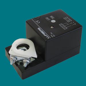 DA02N24S Електропривод Lufberg для повітряної заслінки 0,4 м2 з дод. контактом
