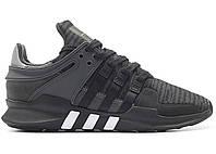 Кроссовки Adidas EQT Support ADV Black Grey, фото 1