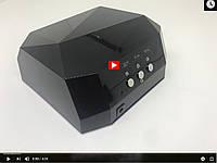 Лампа Гибридная для маникюра и педикюра Diamond (12W CCFL + 24W LED) 36W  Видео Обзор
