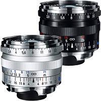Компактный фото объектив Biogon T* 2,8/28 ZM Silver/Black